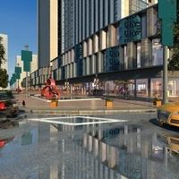 Street Landscapes 068 3D Model