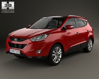 Hyundai Tucson (ix35) US 2010 3D Model