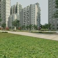 High Rise Residential Building 070 3D Model