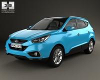Hyundai Tucson (ix35) 2013 3D Model