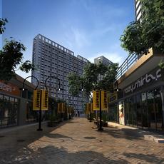Street Landscapes 072 3D Model