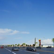 Street Landscapes 076 3D Model