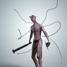 Demon of Pains 3D Model