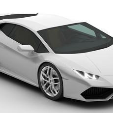 Lamborghini Huracan LP610-4 3D Model