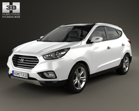 Hyundai Tucson (ix35) Fuel Cell 2012 3D Model