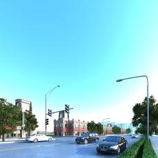 Street Landscapes 087 3D Model