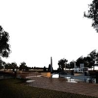Park Landscapes 090 3D Model