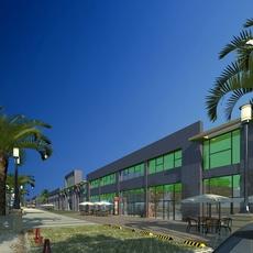 Street Landscapes 097 3D Model