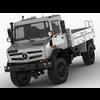 Mercedes Unimog U4023 - U5023 3D Model