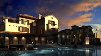 Villa Building 107 3D Model