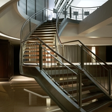 Stairs of Alexader Helth Club 3D Model