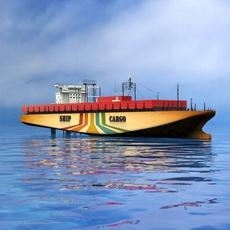 Ship cargo 3D Model