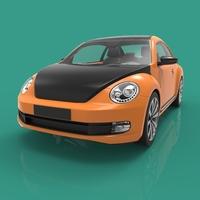 Coco Sport car 3D Model