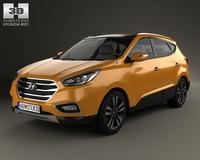 Hyundai Tucson (ix35) Korea 2013 3D Model