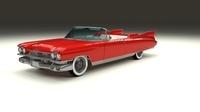 1959 Cadillac Eldorado Biarritz 3D Model