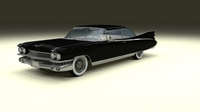 1959 Cadillac Eldorado Coupe 3D Model