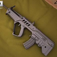 IMI Tavor TAR-21 3D Model