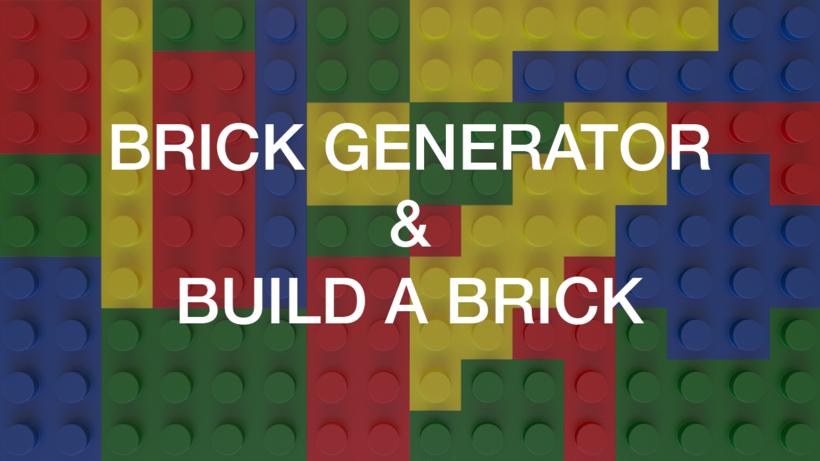 Brick Generator & Build A Brick for Maya - Free Poly Tools Modeling ...