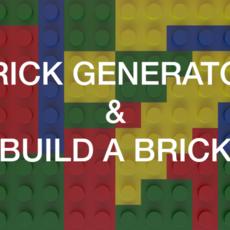 Brick Generator & Build A Brick for Maya 1.1.0 (maya script)