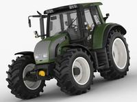 Valtra N142 tractor 3D Model