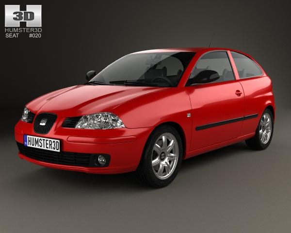Seat Ibiza ST 2013 3D Model