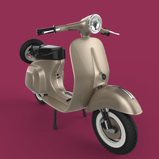Scooter 3D Model