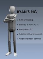 Ryan's Rig 1.0.0 for Maya