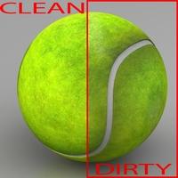 Tennis ball 3D Model