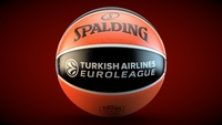 Spalding turkish Airlines Euroleague Basketball official ball 3D Model