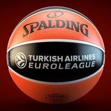 Spalding turkish Airlines Euroleague Basketball official ball 3D Model