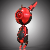 Robo Rabbit 3D Model