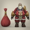 14 33 56 128 fantasy santa claus with bag 01 4