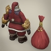 14 33 58 788 fantasy santa claus with bag 05 4