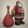 14 33 59 375 fantasy santa claus with bag 06 4