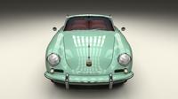 Porsche 356 Convertible 3D Model