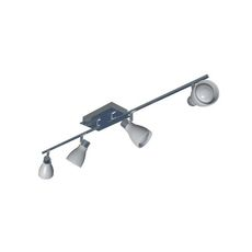 4 head swievel light fixture 3D Model
