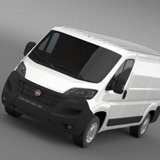 Fiat Ducato Van L2H1 2015 3D Model
