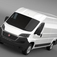 Fiat Ducato Van L4H2 2015 3D Model