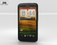 HTC One X plus 3D Model