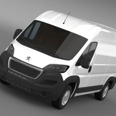 Peugeot Manager Furgon L2H2 2014 3D Model