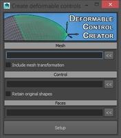 Deforming control creator 1.5.0 for Maya (maya script)
