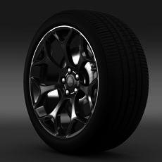 Chrysler 300S 2015 wheel 3D Model