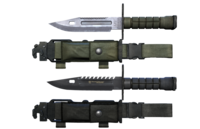 M9 Bayonet Knife Pack 3D Model