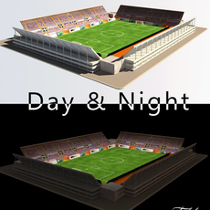 Stadium Level 1 Day&Night 3D Model