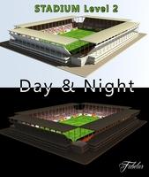 Stadium Level 2 Day&Night 3D Model
