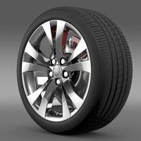 Buick Regal wheel 3D Model