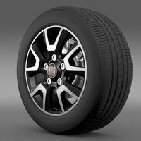 Fiat Ducato Panorama wheel 3D Model