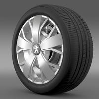 Peugeot Boxer wheel 3D Model