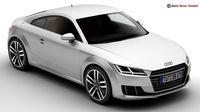 Audi TT Coupe 2015 3D Model