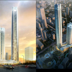 Skyscraper business center 033 3D Model
